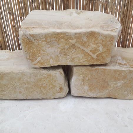 Hochbeet Steine Römer Kalkstein
