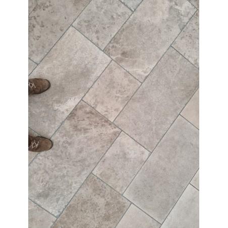 Terrassenplatten Edel Travertin Macchiato