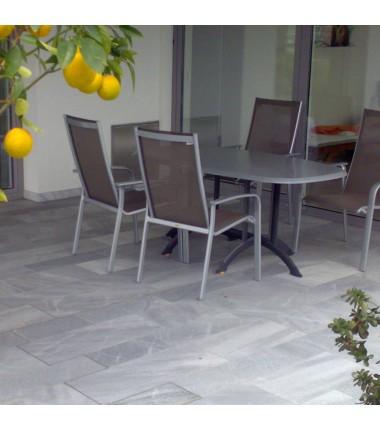 Terrassenplatten UNIKA Rauchkristall Marmor