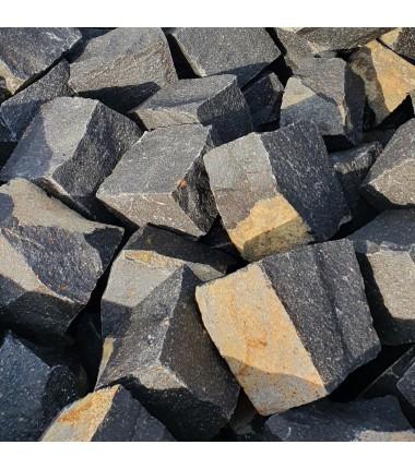 Pflastersteine Basalt schwarz